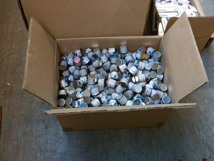 Botes de pintura Humbrol