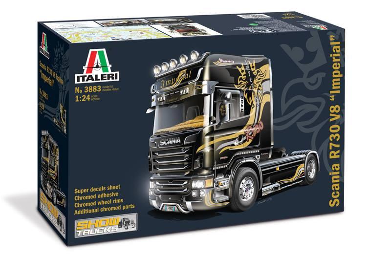 Maqueta Scania R730