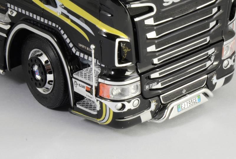 Maqueta Italeri Scania R730 detalle