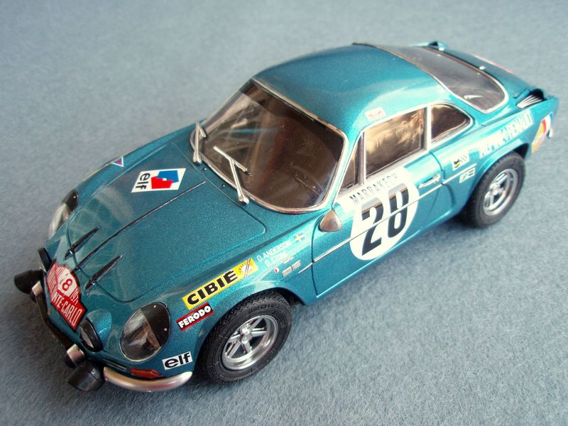 Maqueta Renault Alpine 1