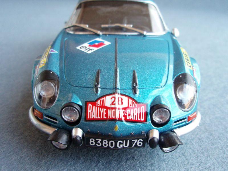 Maqueta Renault Alpine 3
