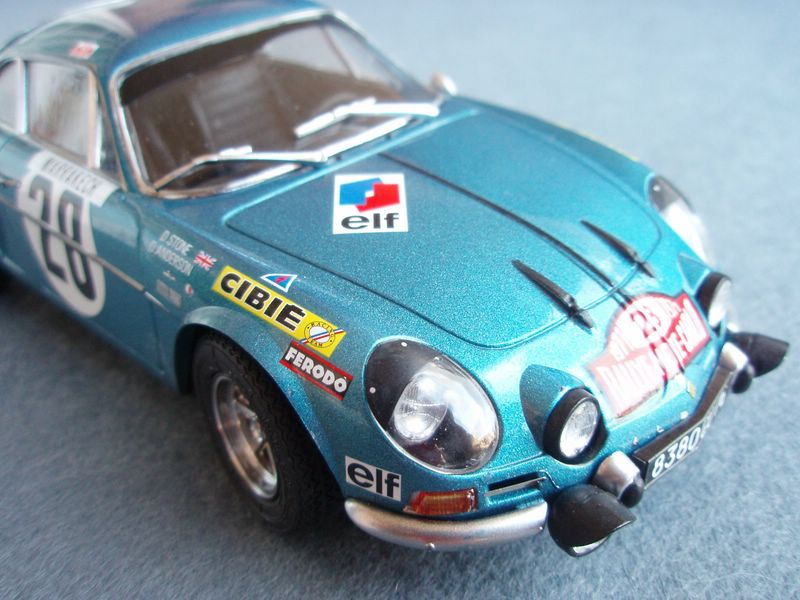 Maqueta Renault Alpine 4