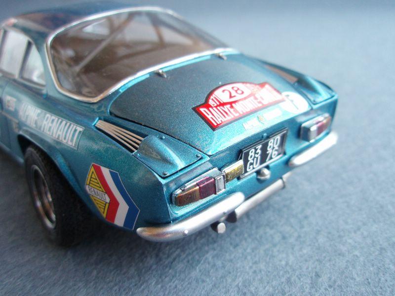 Maqueta Renault Alpine 5