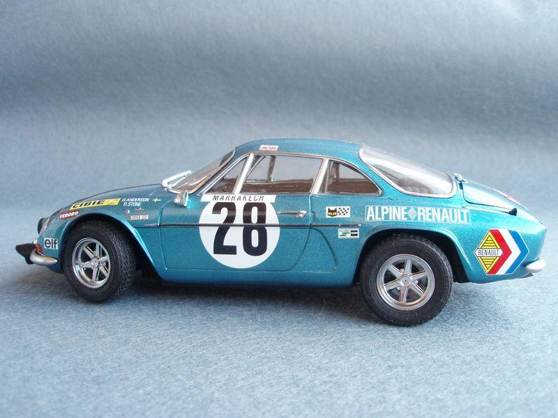 Maqueta Renault Alpine 7