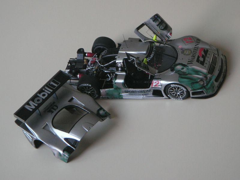 Maqueta Mercedes CLK 01