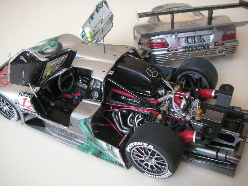 Maqueta Mercedes CLK 02