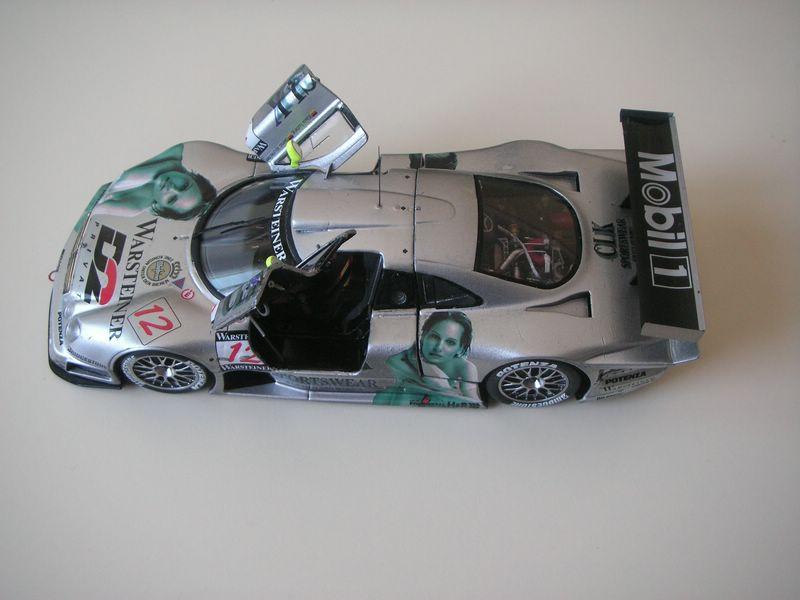 Maqueta Mercedes CLK 04