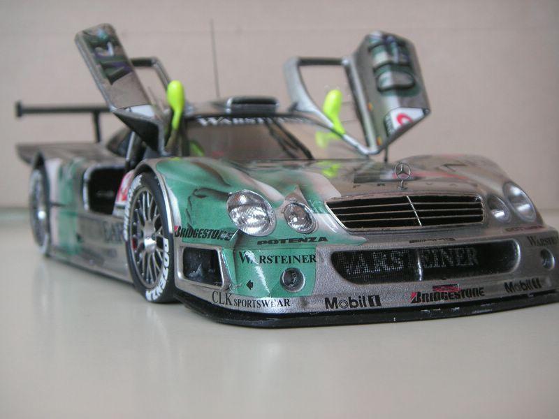 Maqueta Mercedes CLK 05