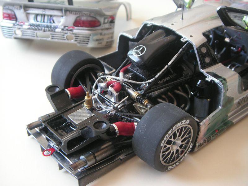 Maqueta Mercedes CLK 06