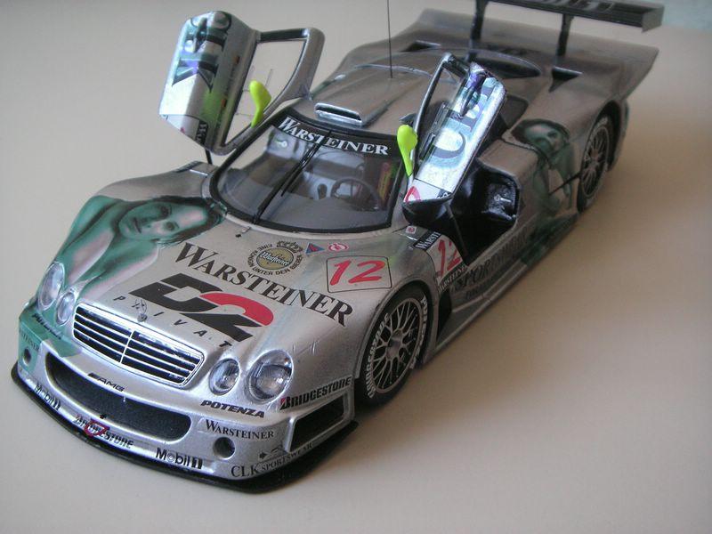 Maqueta Mercedes CLK 07