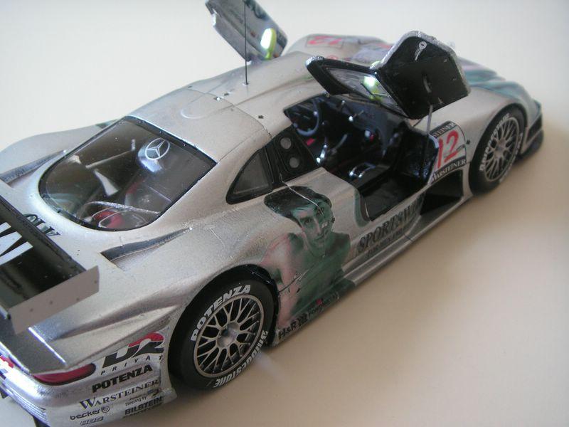 Maqueta Mercedes CLK 08
