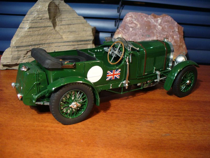Maqueta Bentley Blower de Heller 01