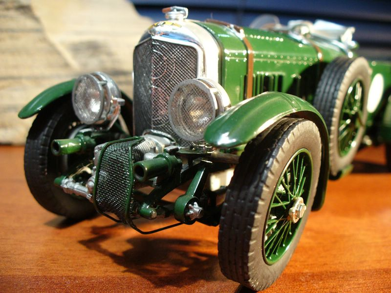Maqueta Bentley Blower de Heller 02