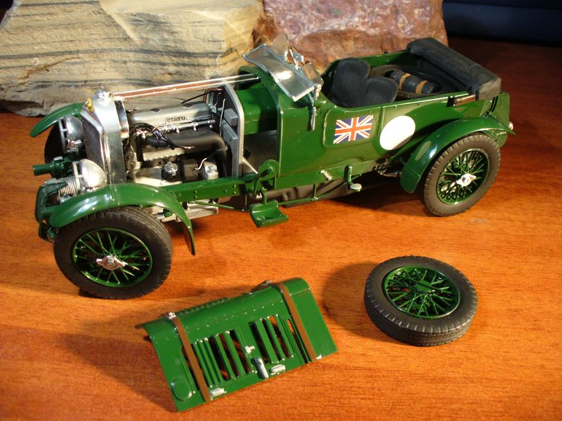 Maqueta Bentley Blower de Heller 03