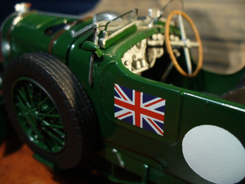 Maqueta Bentley Blower de Heller 06