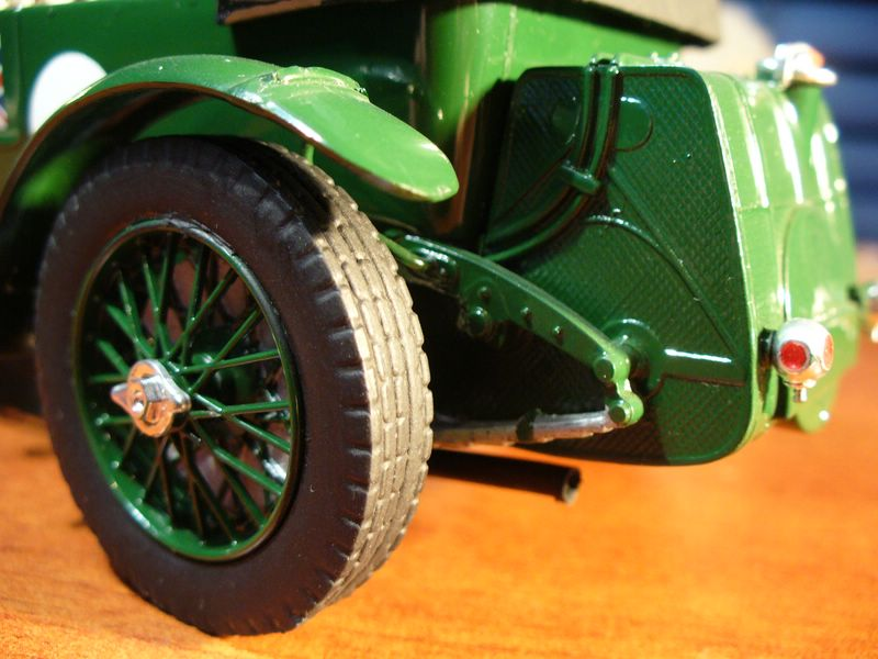 Maqueta Bentley Blower de Heller 07