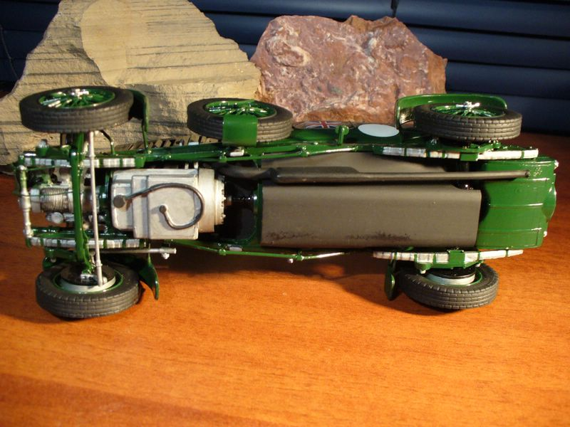 Maqueta Bentley Blower de Heller 08