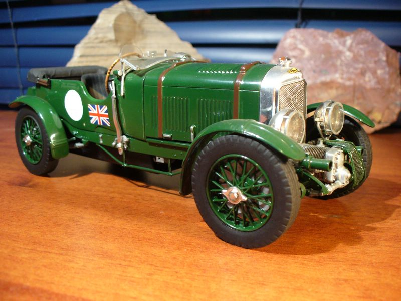 Maqueta Bentley Blower de Heller 09