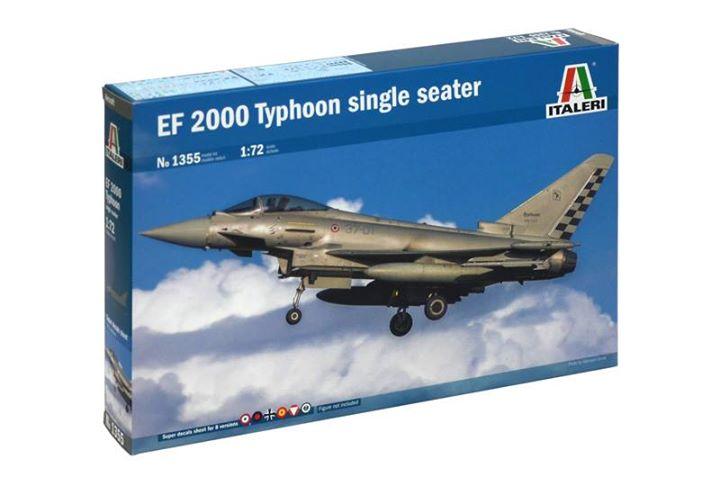 Maqueta Eurofighter de Italeri