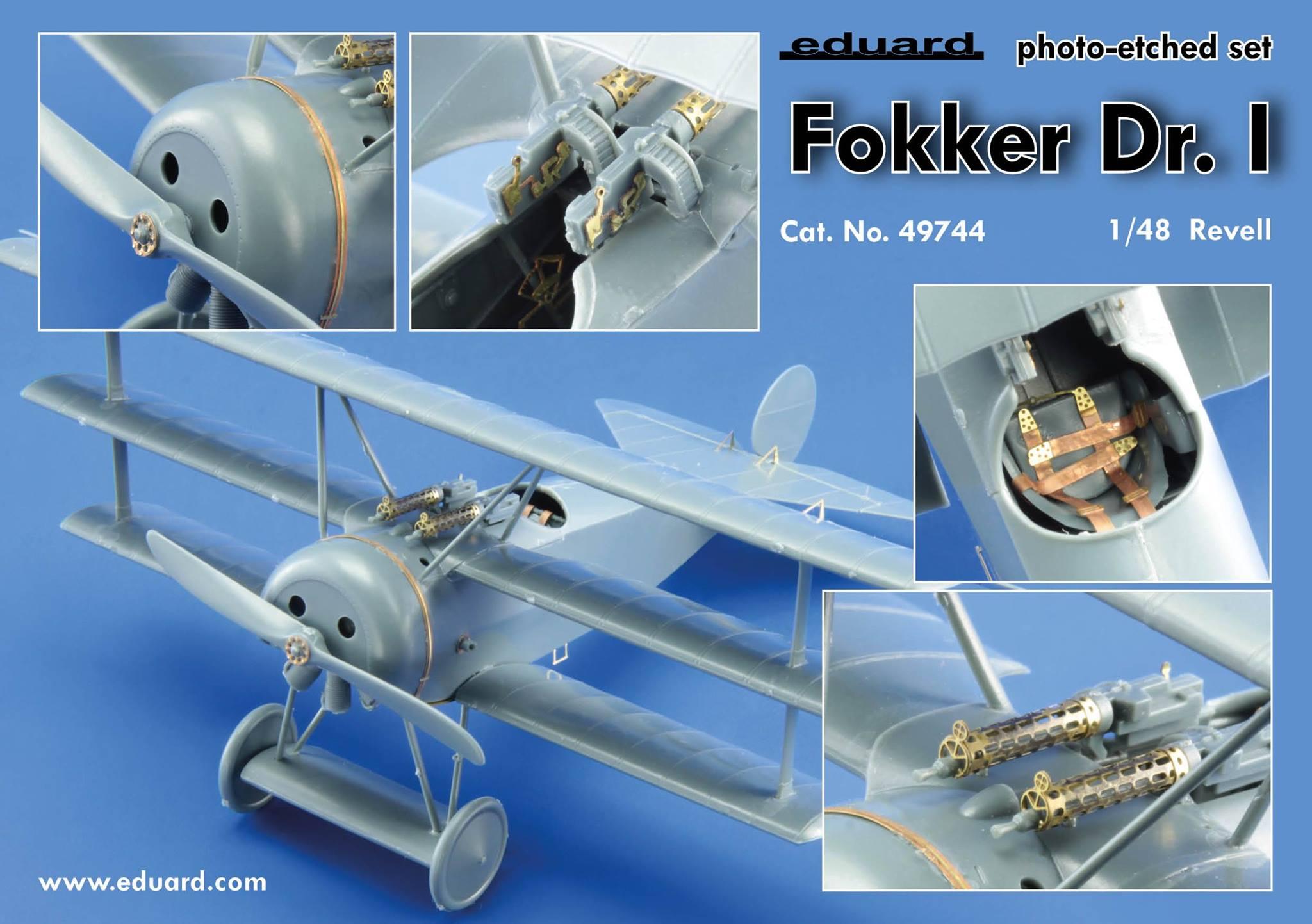 Fotograbado Fokker Dr.I